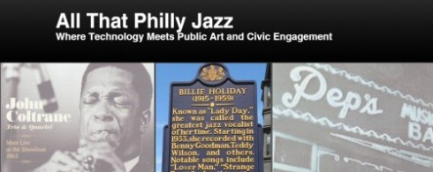 All That Philly Jazz - Wix Screenshot - Cropped