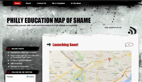 Philly Education Map of Shame Screenshot - 8.17.14