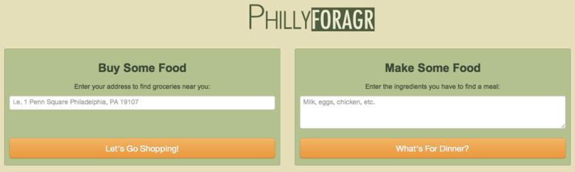 Philly Foragr Screenshot