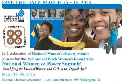 National Women of Power Summit 2013