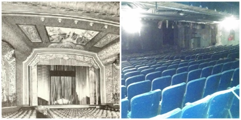 Uptown Theater - Archival Photo - Seats