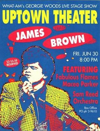 Uptown Theater - Sam Reed - James Brown