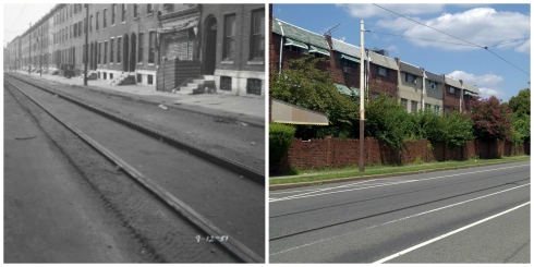 Route 23 Trolley Tracks