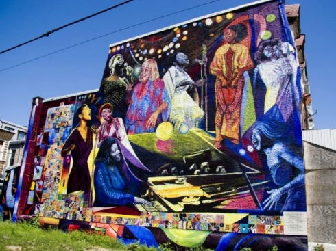 Avenging the ancestors if walls could talk tracking change for African american mural
