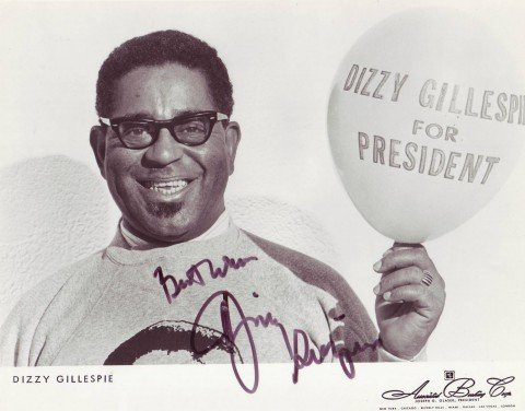 Dizzy for President - Balloon