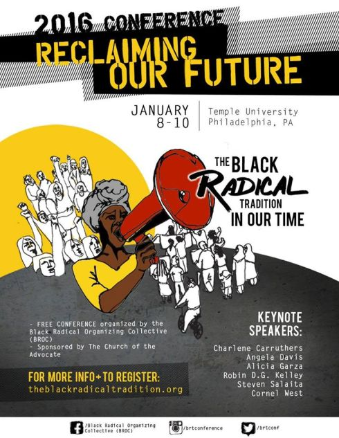 Black Radical Conference - Jan. 2016