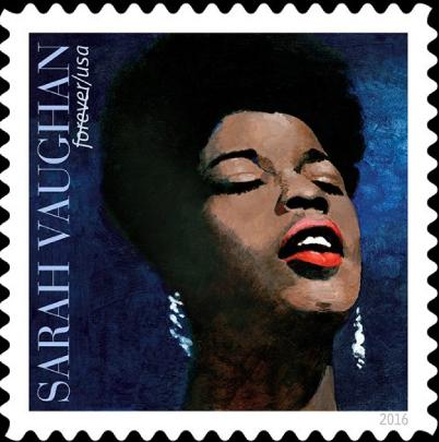 Sarah Vaughan Stamp - Resized