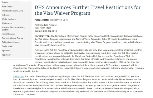 dhs-announces-further-travel-restrictions-for-the-visa-waiver-program
