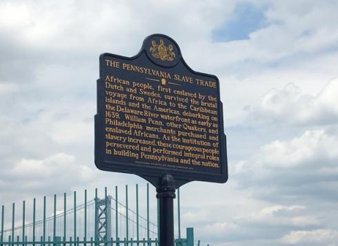 Slave Trade Marker