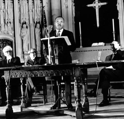 MLK-at-RC-4Apr1967-Riverside-Church-April 4, 1967