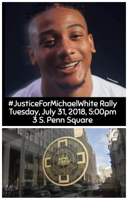 #JusticeForMichaelWhite Rally - 7.31.18
