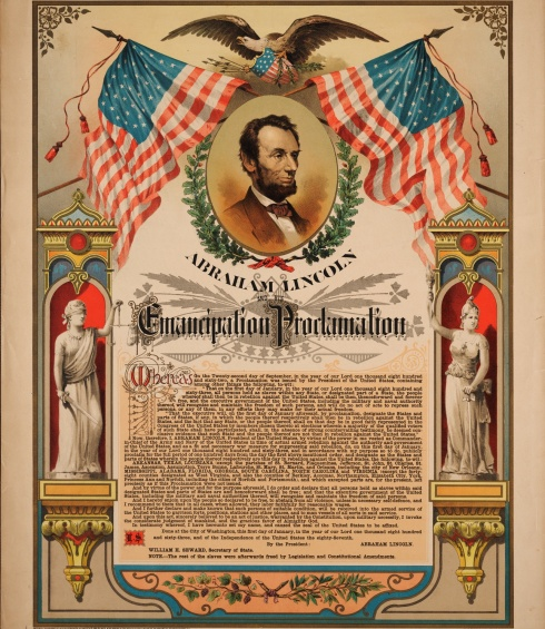 Emancipation Proclamation - Jan. 1, 1863
