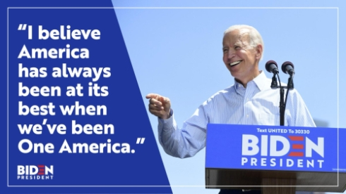 Joe Biden - One America