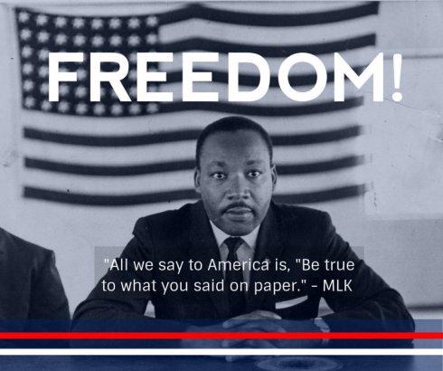MLK - Freedom!