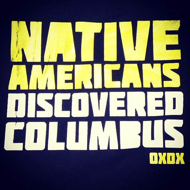 Native Americans Discovered Columbus2